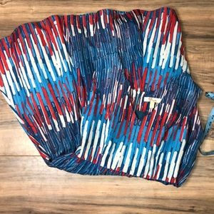 Red White and Blue Aryeh sz S Aline dress